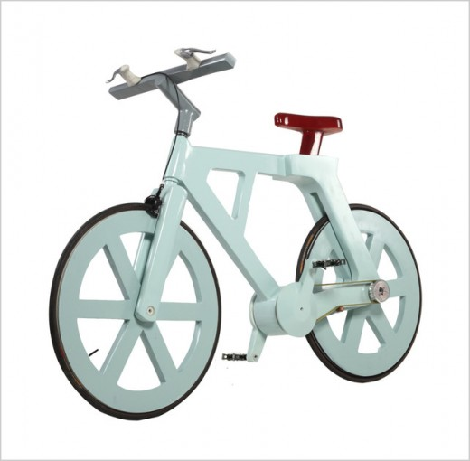 Izhar Gafni Cardboard bicycle $9
